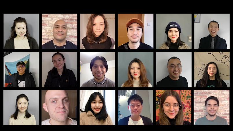 Monstarlab worldwide Team Mosaik