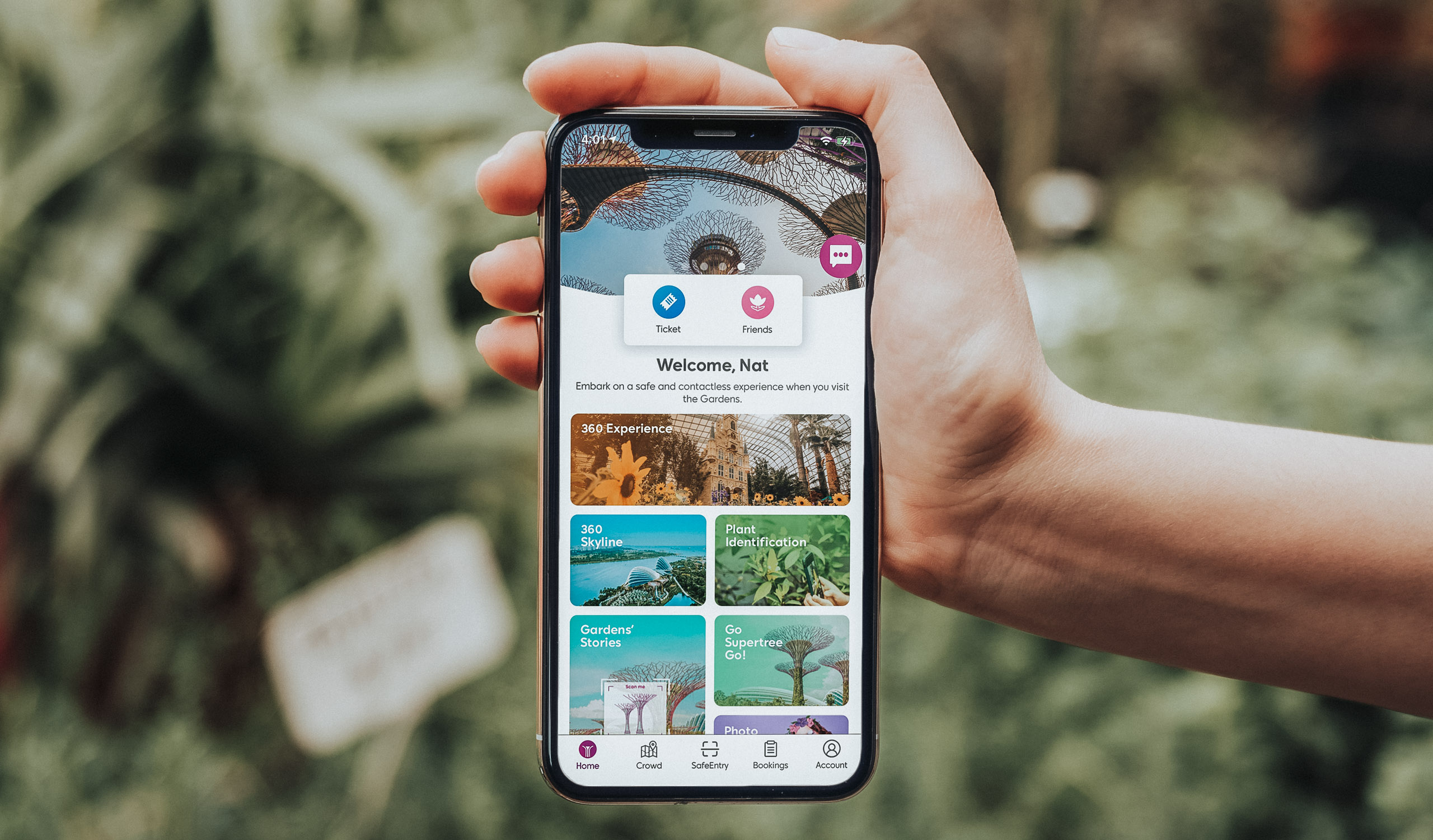 Gardens by the Bay App