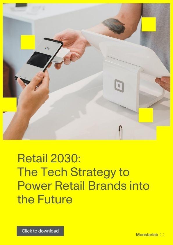 Einzelhandel 2030: Tech Strategien für die Zukunft des Einzelhandels [Whitepaper]